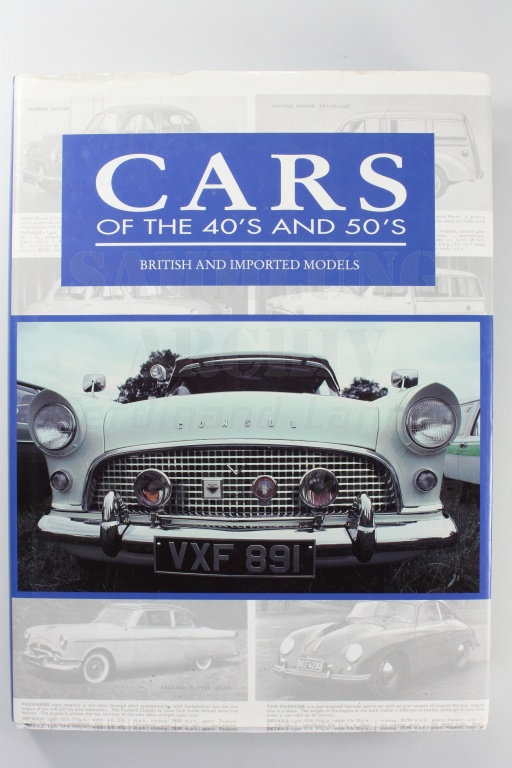 Cars of the 40s and 50s - British and Imported Models