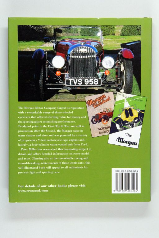 Buch book Malvern Sportwagen 4//4 +4 +8 Aero 8 3-Wheeler Morgan · Das Making-of