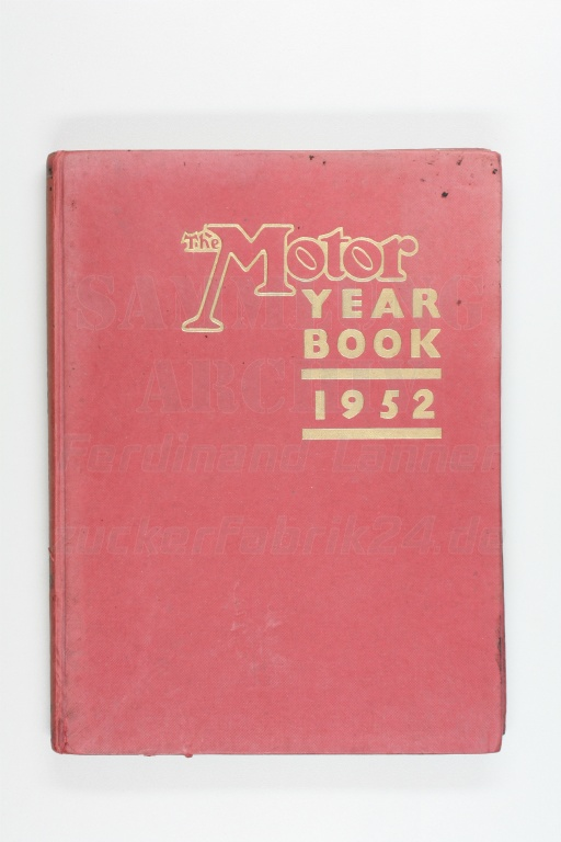 The Motor - Yearbook 1952